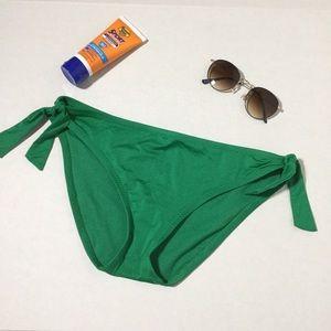 NWOT Green swimsuit bikini bottoms